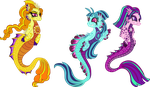 Unique Style Dazzlings/Sirens by StarryOak