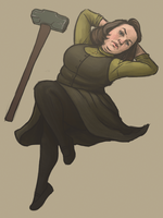 Annie Wilkes Misery Pinup by SamRAW08