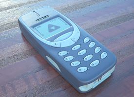 Nokia 3310 by OneTwoThreeSquare