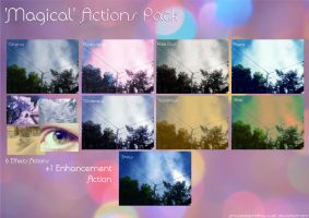 'Magical' Actions Pack by iAmoret