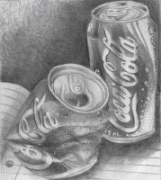 black and white coke drawing by Kimberleyelrebmik