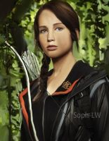 Katniss Everdeen painting by Soph-LW