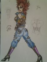Joan (colored) Power Punk Rock by bianca-b9k4