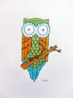 Owl by BenjiiBen