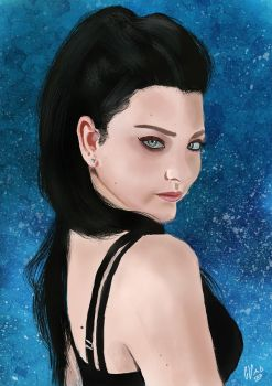 Amy lee by IcedEdge