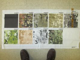 Partisan Camouflage test swatches by pip-pip-rah