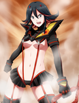 Nov 2 - Kill La Kill by HanuWabbit