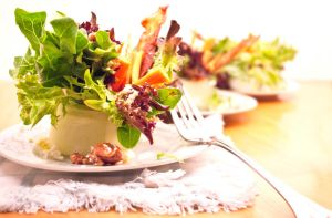 Bacon Blue Cheese Salad by noregretting91