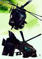 Helicopter Concept by MatoelGrande