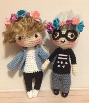 Tyler Oakley and Troye Sivan by Mishaila