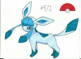 Glaceon by Azure-Dragon-Seiryu
