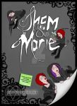 Shem and Marie Cover Comic by Dead-Rose-16