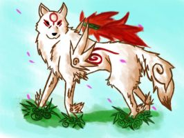 Amaterasu by DarkDragon1010