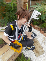 Kingdom Hearts - Sora Cosplay by NipahCos