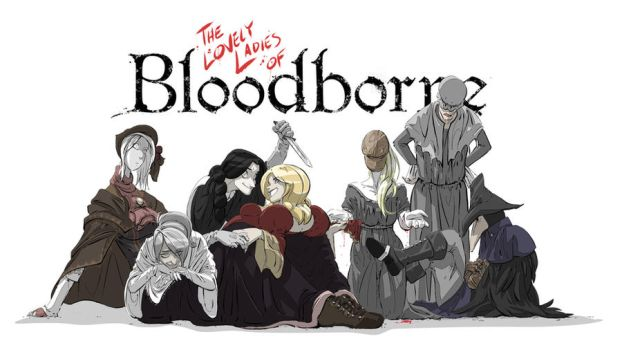 Lovely Ladies of Bloodborne by PawFeather