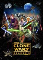 Clone Wars 4 poster by denisogloblin