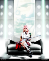 Lightning Cosplay by KADU-OUT