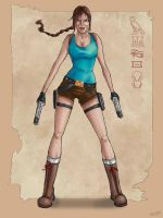 Lara Croft Classic by littlesusie2006