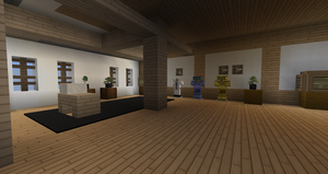Minecraft - Himeji Castle Armour Room by MinecraftArchitect90