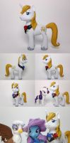 Prince Blueblood G4 Custom Pony by Oak23
