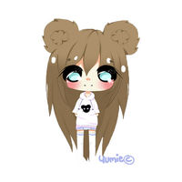 Chibi commission for Caseykinz by Miyee