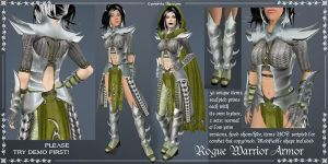 Rogue Warrior Armor set by Elvina-Ewing
