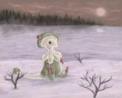 Frozen Lake - Breloom by Spigu