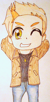 Dean Winchester Chibi-Coloured by RetroNinja