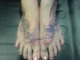 Ugly dolls foot piece by Shipht