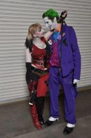 Joker and Harley - Til death do us part by CaptainGord