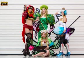 Odin Sphere Group - London MCM October 2013 by Paper-Cube