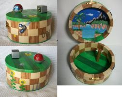 Green Hill Zone box by Elisto