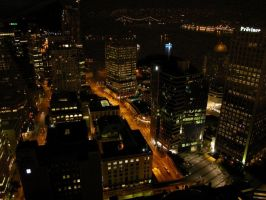 Vancouver At Night by greent