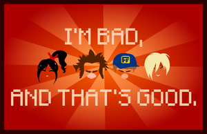 Bad to the Bone - Wreck it Ralph by LaggyCreations