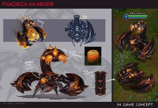 Guardian of the Sands Skarn Skarn - KNKL Concepts by KNKL