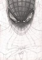 'Spiderman' WIP 25% complete by Pen-Tacular-Artist