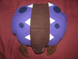 Zerg Overlord StarCraft Pillow by AztecTemplar