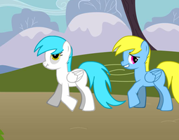 Derpy and Double W S1 Epi 3 Body Swap Preview by Puppies567