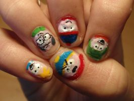 south park nails by Ninails
