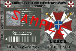 European Union U.B.C.S. ID Card by Nachtwolfen18
