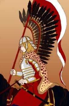 Poland: Winged Hussar by claudiakat