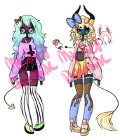 Pastel Demons CLOSED by RadicalAdopts