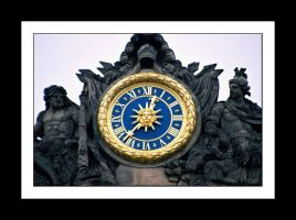 Clock of the Sun King by wolfmagus