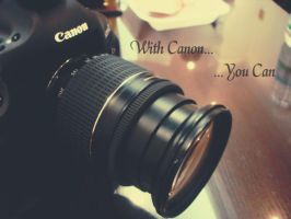 With Canon... by angelkittin