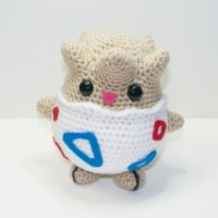 Togepi by Heartstringcrochet