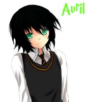 HP OC - Avril the Bishounen by SlyGoddess