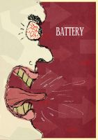 Metallica's Battery song poster by GreGfield
