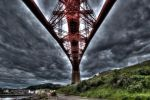 Under the Forth Bridge. by alloria-sjg