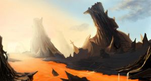 Hell's Lava by EricaRosie