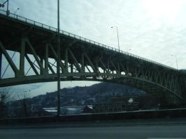 Bridge in Pittsburgh by cchockeychic58